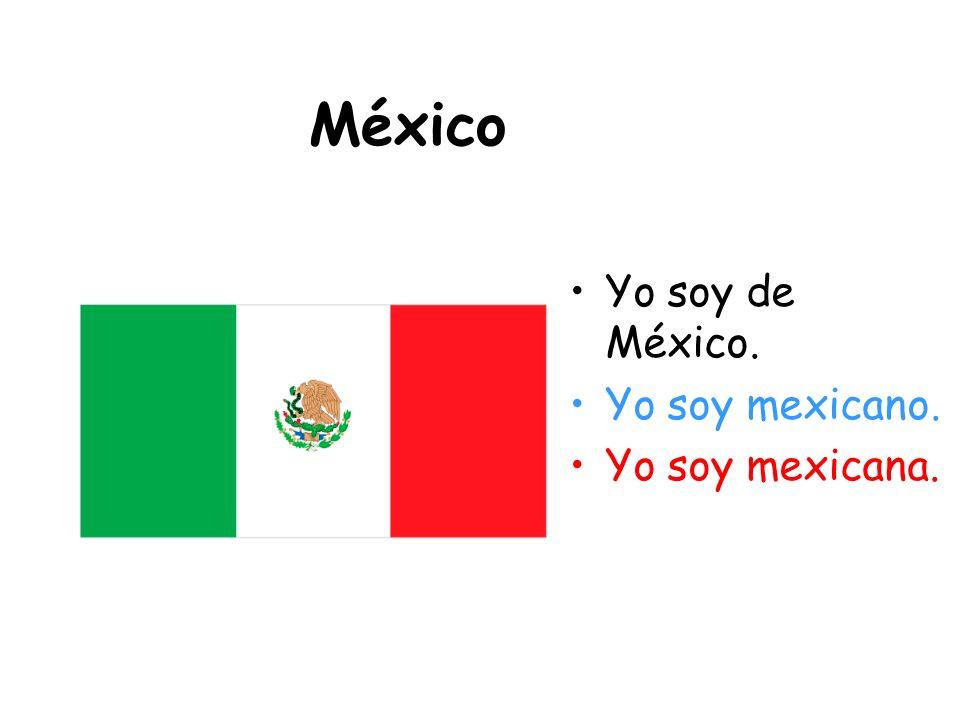 Guatemala Yo soy de Guatemala. Yo soy guatemalteco. Yo soy guatemalteca.