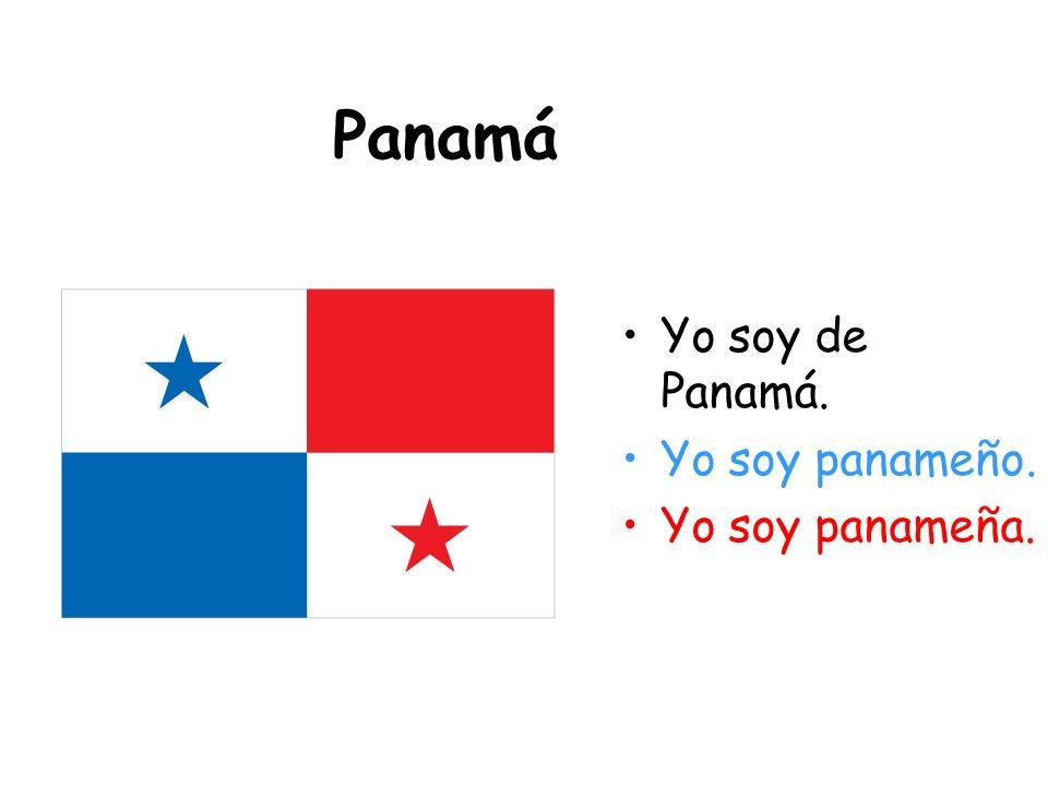 Colombia Yo soy de Colombia. Yo soy colombiano. Yo soy colombiana.