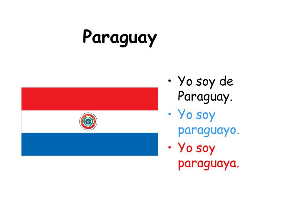 Panamá Yo soy de Panamá. Yo soy panameño. Yo soy panameña.
