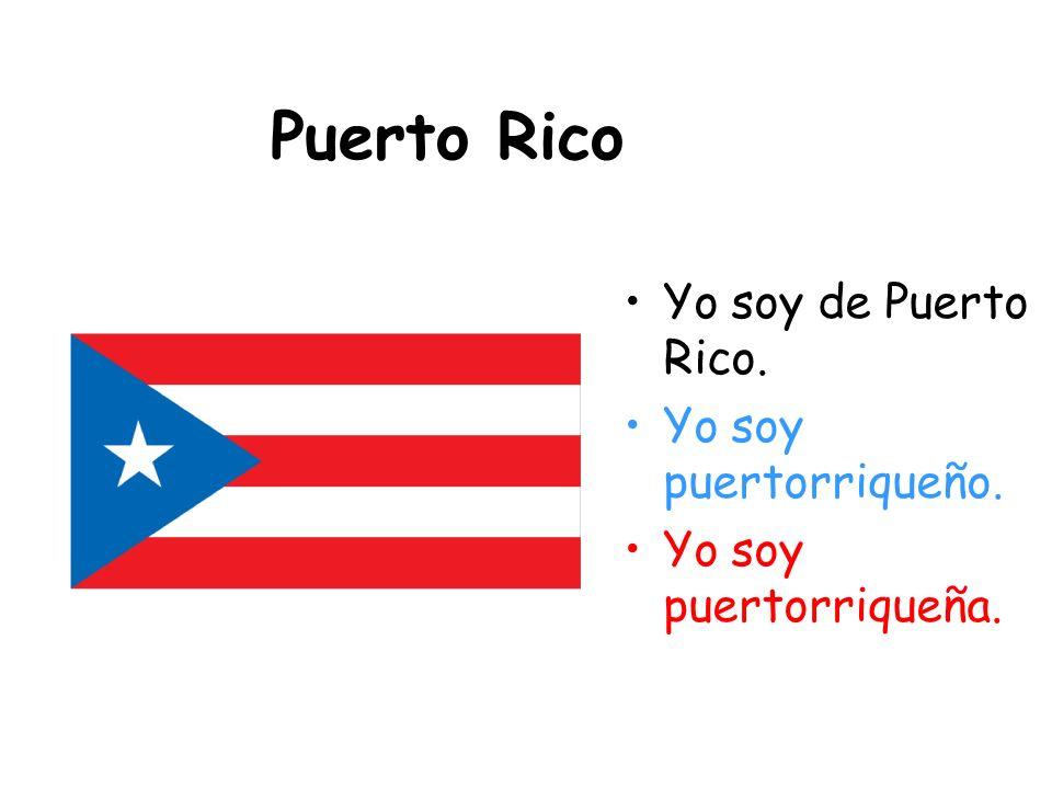Perú Yo soy de Perú. Yo soy peruano. Yo soy peruana.