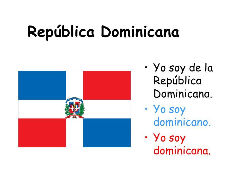 Cuba Yo soy de Cuba. Yo soy cubano. Yo soy cubana.