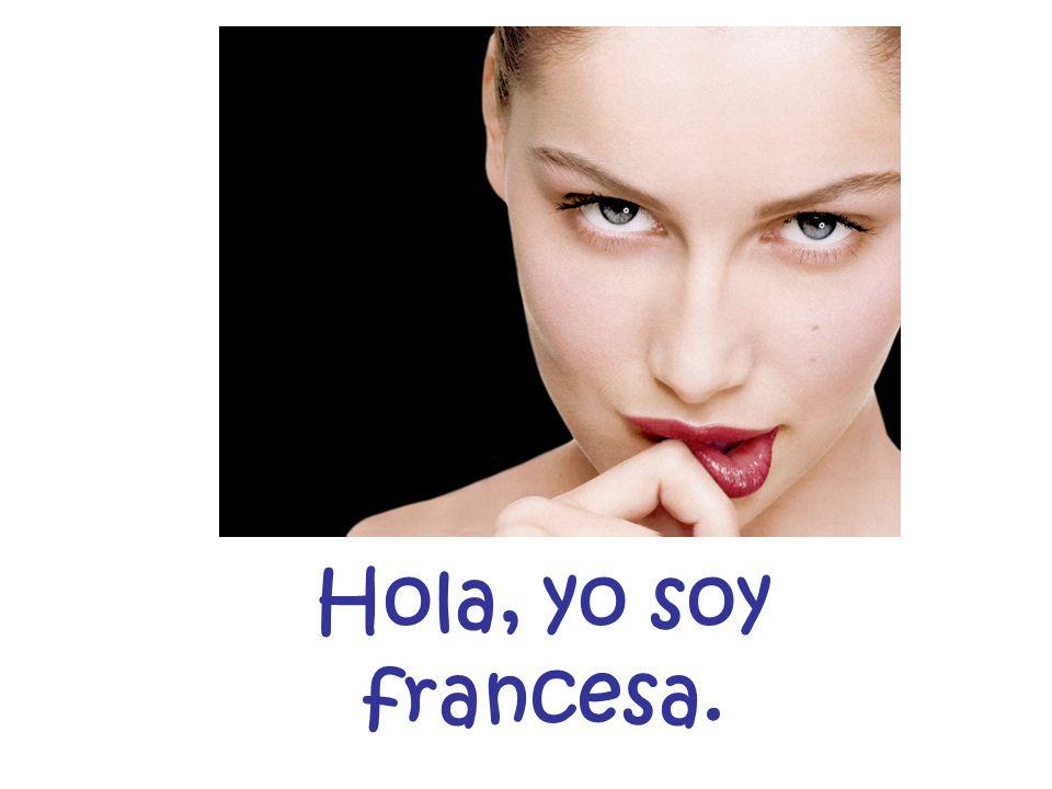 Yo soy español.