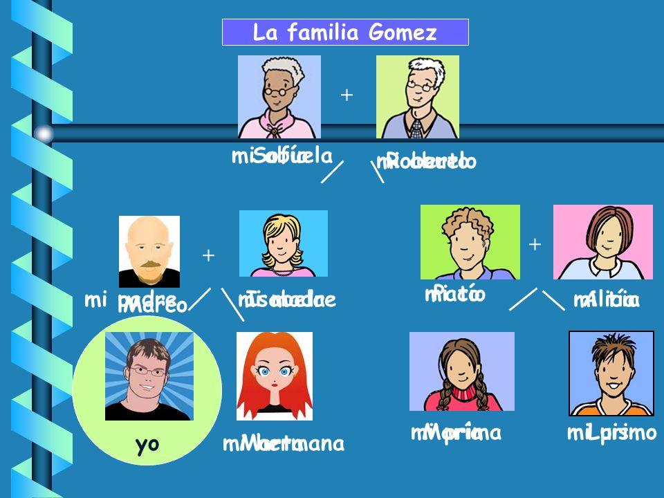 + Paco MaríaLuis AliciaIsabela Sofía Roberto La familia Gomez + yoMarta + Marco