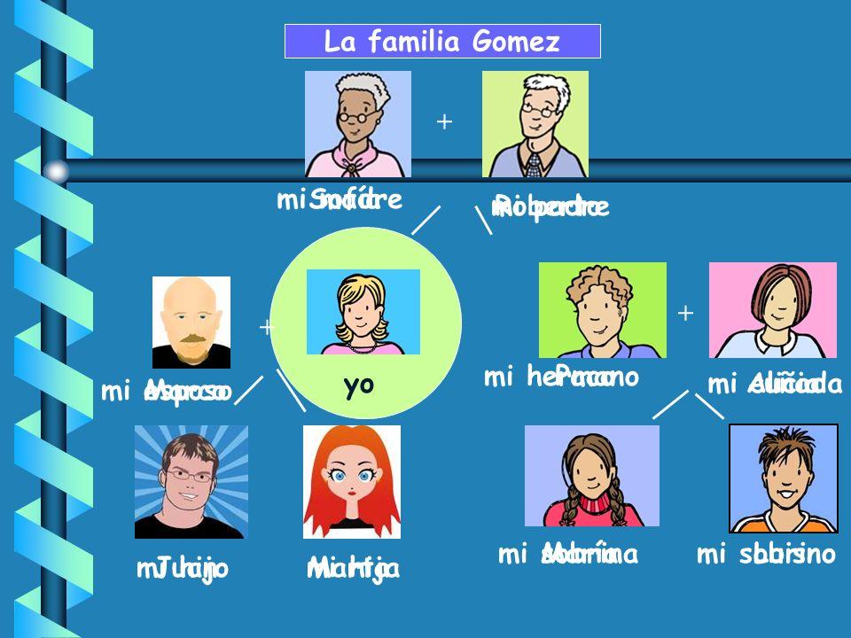 + Paco MaríaLuis Aliciayo Sofía Roberto La familia Gomez + JuanMarta + Marco