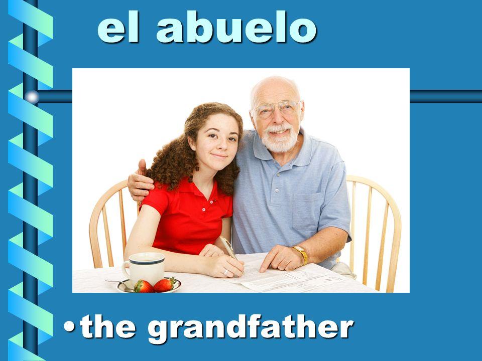 los abuelos the grandparentsthe grandparents