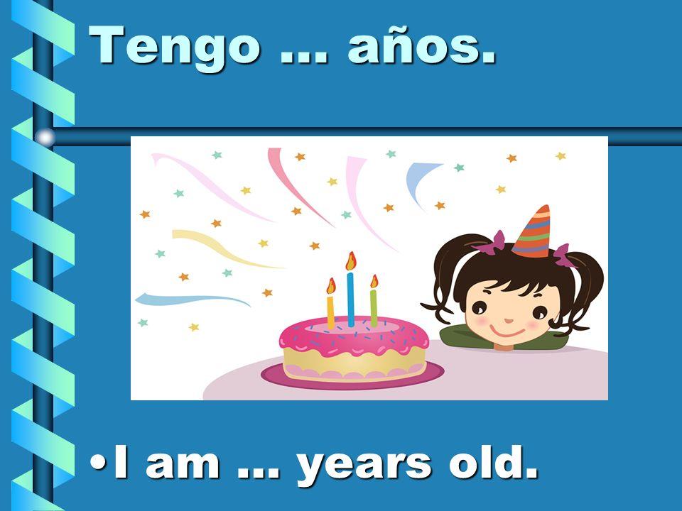 ¿Cuántos años tienes? How old are you?How old are you?