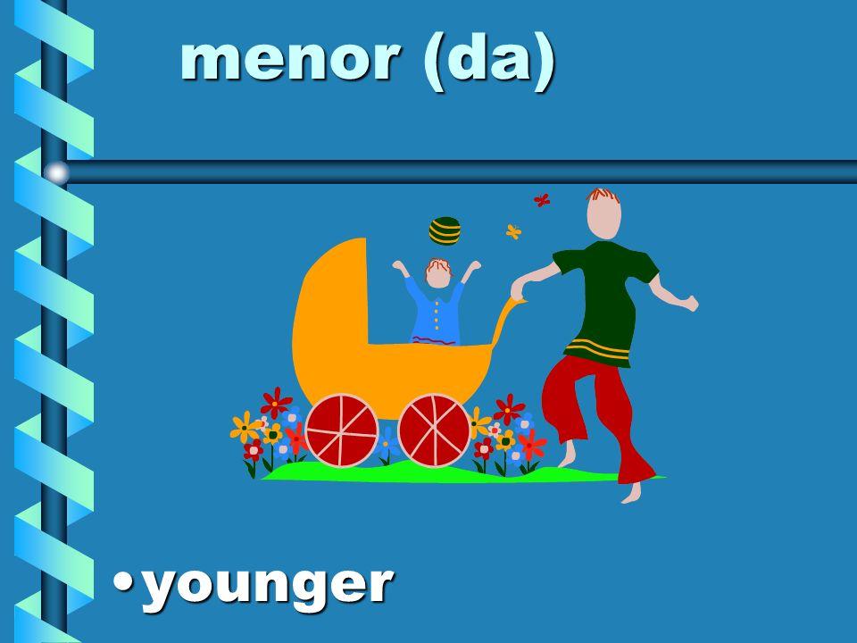 mayor (da) olderolder