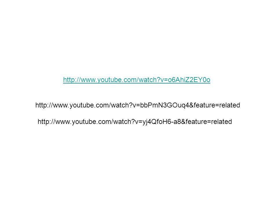 http://www.youtube.com/watch?v=bbPmN3GOuq4&feature=related http://www.youtube.com/watch?v=yj4QfoH6-a8&feature=related http://www.youtube.com/watch?v=o6AhiZ2EY0o