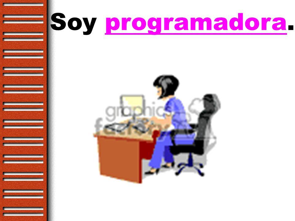 Soy programador.