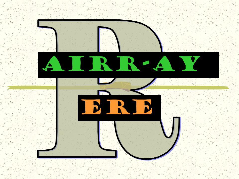 AIRr-AY ere