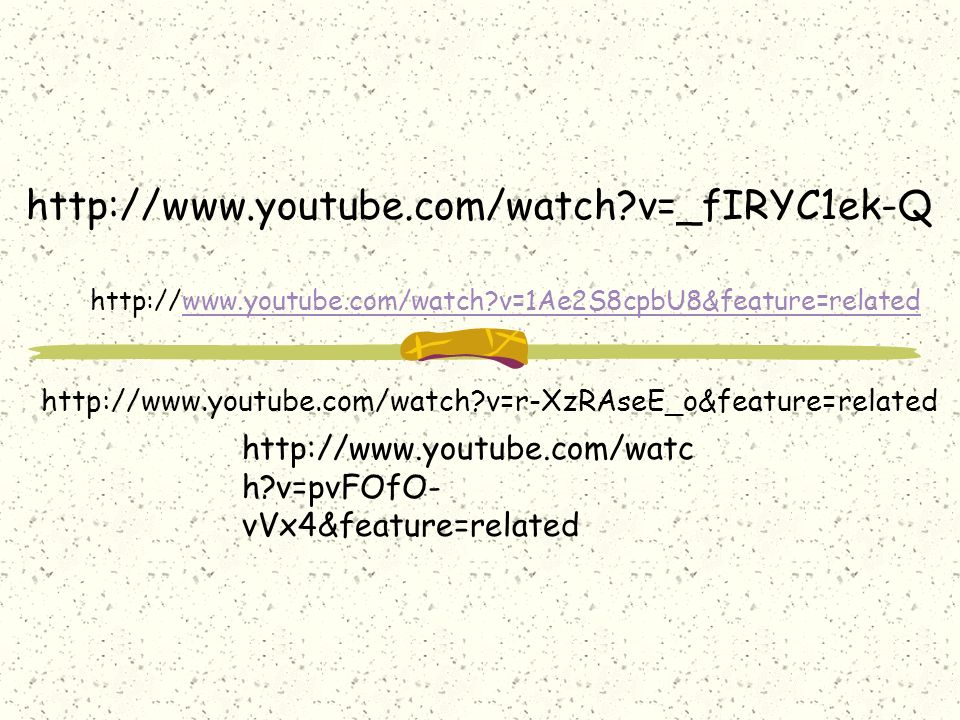 http://www.youtube.com/watch?v=_fIRYC1ek-Q http://www.youtube.com/watch?v=1Ae2S8cpbU8&feature=related http://www.youtube.com/watch?v=r-XzRAseE_o&featu