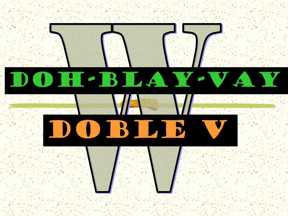 DOH-BLAY-VAY Doble v