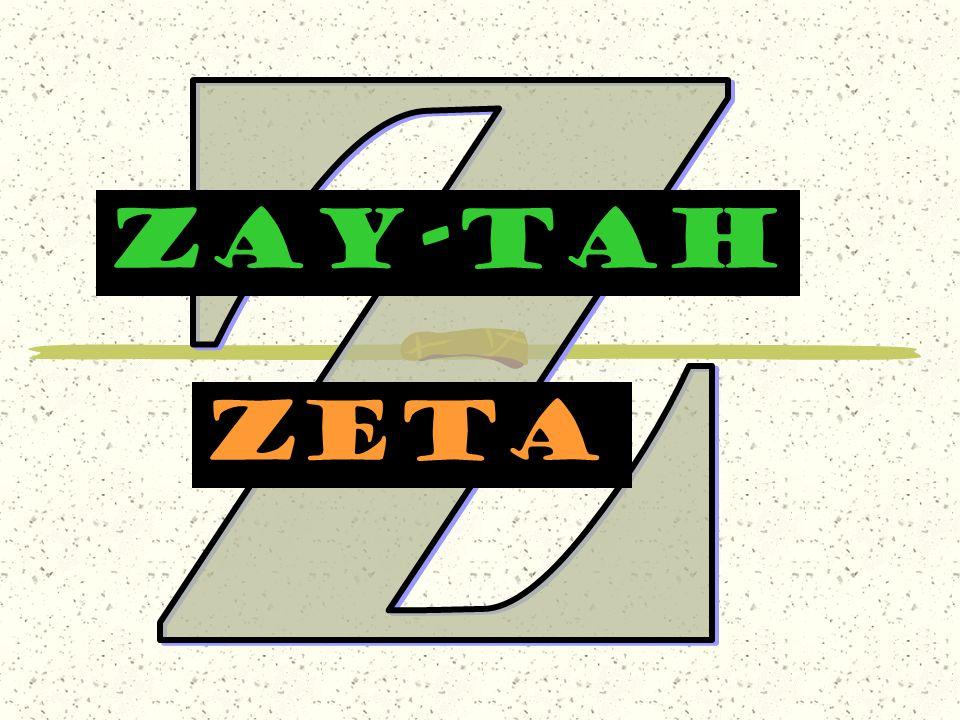 ZAY-TAH zeta