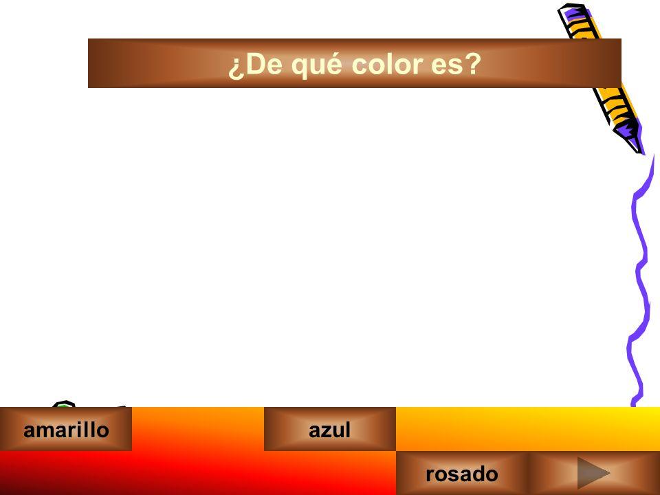 ¿De qué color es amarilloazul rosadoverde