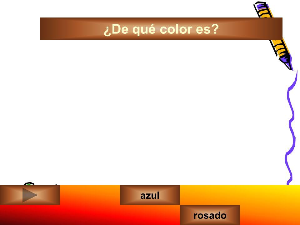 ¿De qué color es amarilloazul rosado