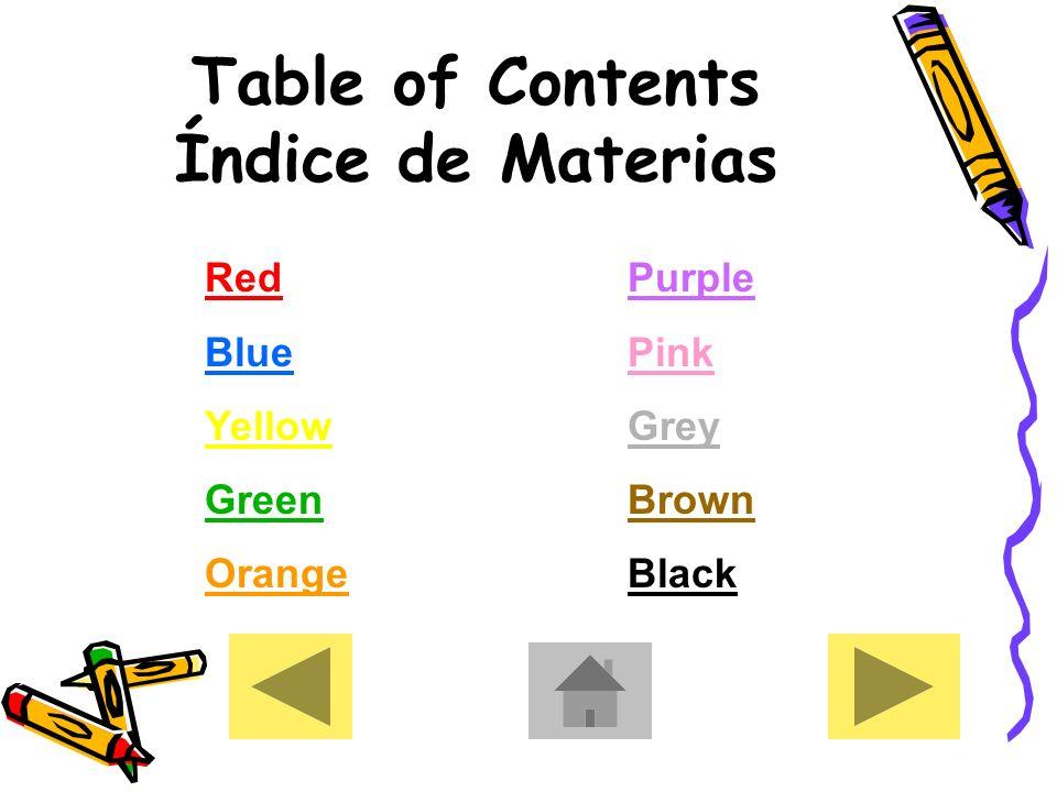 The Colors in Spanish Los Colores en Español