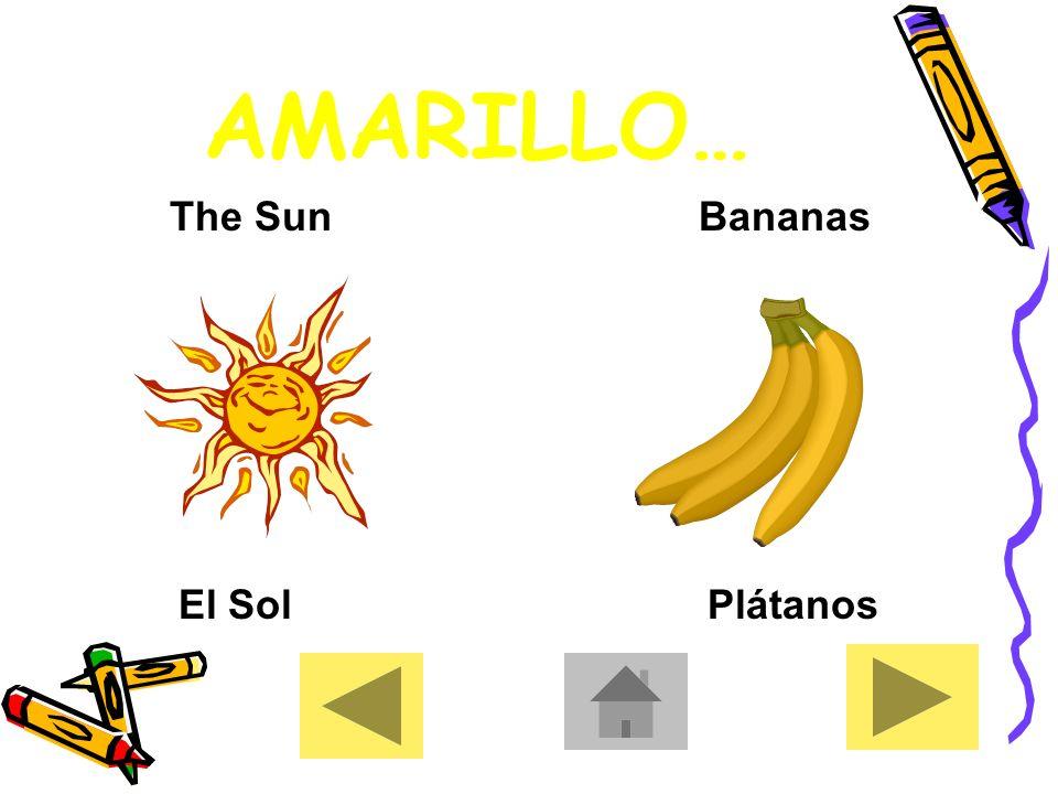 YELLOW AMARILLO [amariλo]