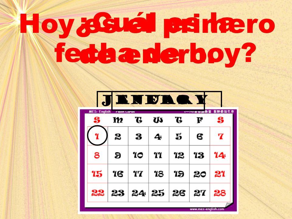 february ¿Cuál es la fecha de hoy? Hoy es el 2 (dos) de febrero. febrero