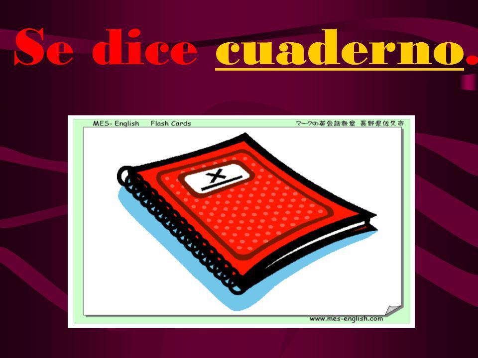 ¿Cómo se dice notebook en español?