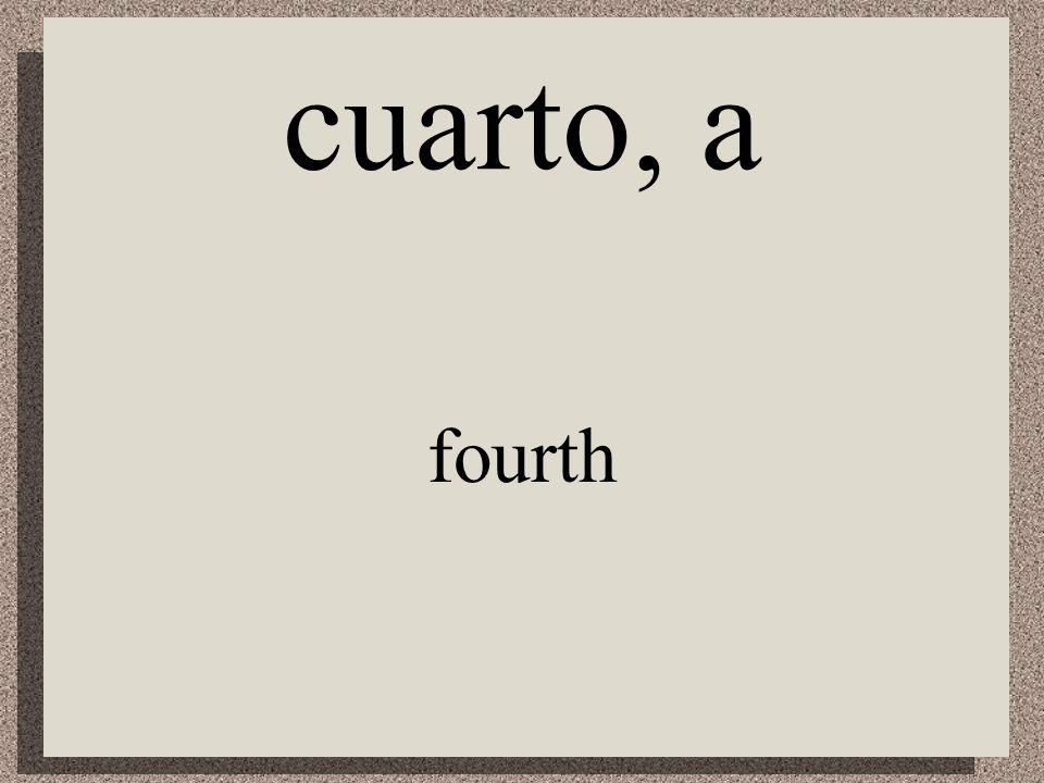 séptimo, a seventh