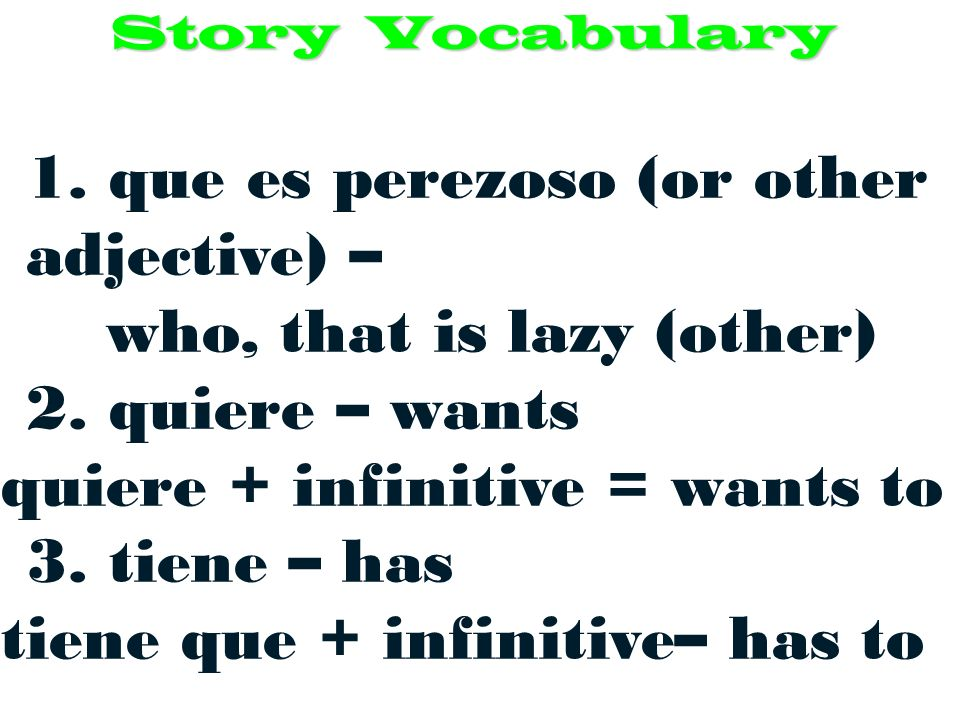 Timed writing – Write as much as you can using required vocabulary