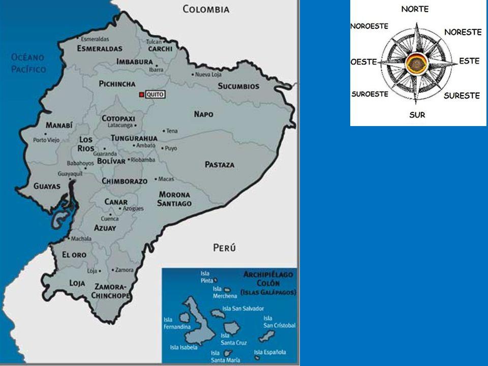 Ecuador Ecuador Capital: Quito ¿Dónde está : América del Sur Población: 13.9 millones Superficie: 109,483 millas cuadradas Lenguas: español, quechua Religiones: católico Dinero: dólar americano Productos: petróleo, langostinos, cacao, atún, oro, bananas, madera tropical