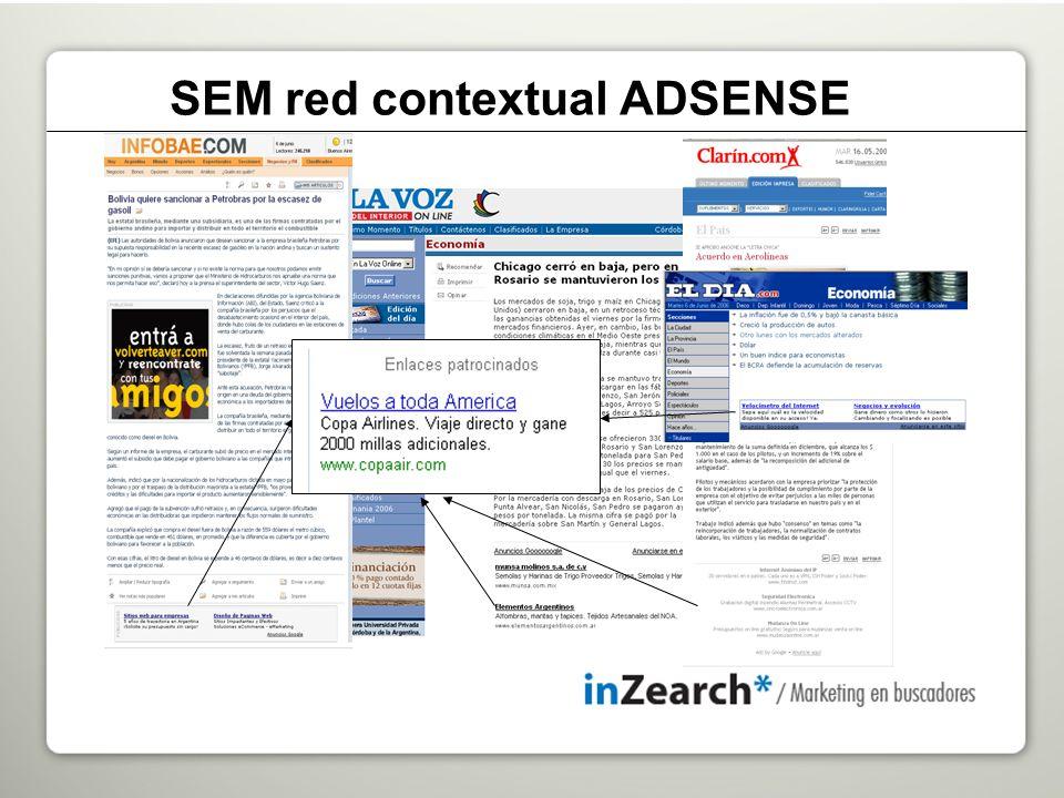 SEM red contextual ADSENSE