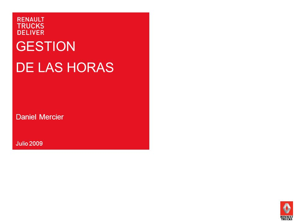 DIRECTION NOM DE LAUTEUR TITRE DE LA PRESENTATIONPAGE 2 DATE LES HORAS Horas compradas Horas de presencia Horas trabajadas Horas vendidas