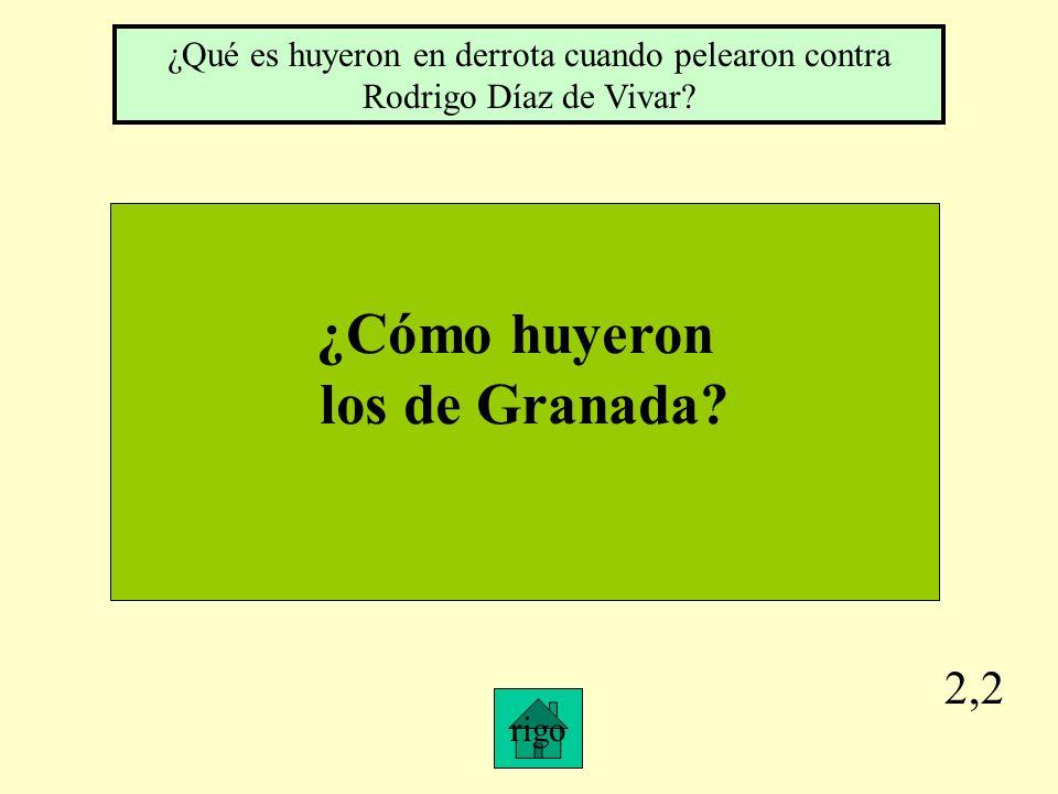 2,1 ¿Qué hizo el Cid al conde García Ordóñez? ¿Qué es le mesó la barba?