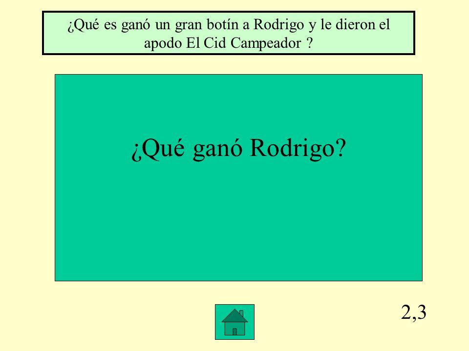 2,2 rigo ¿Cómo huyeron los de Granada.