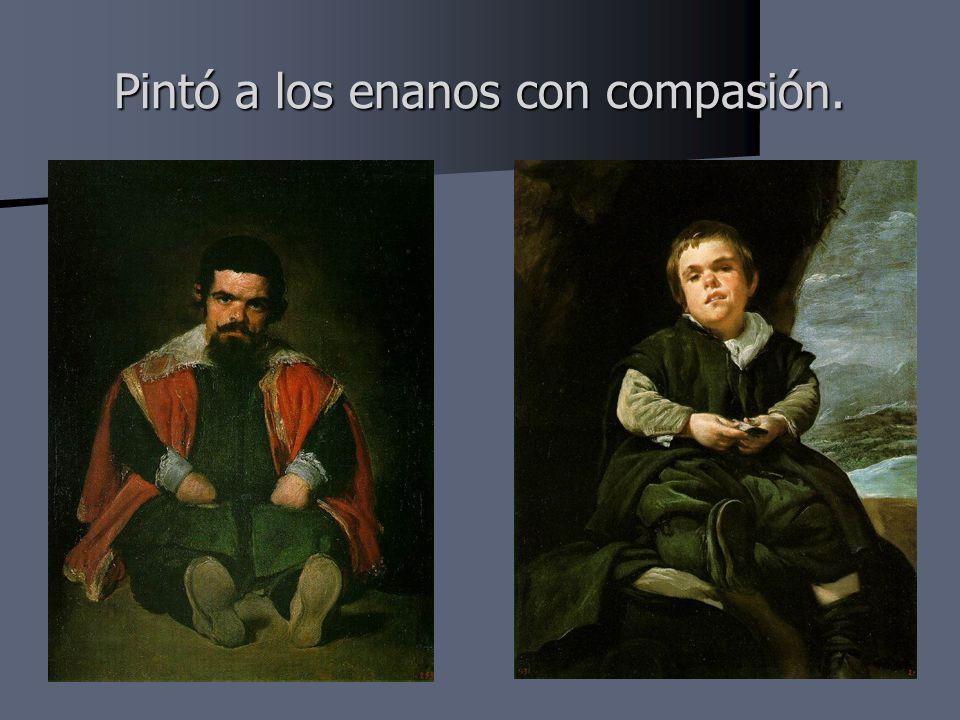 Pintó a los enanos con compasión.
