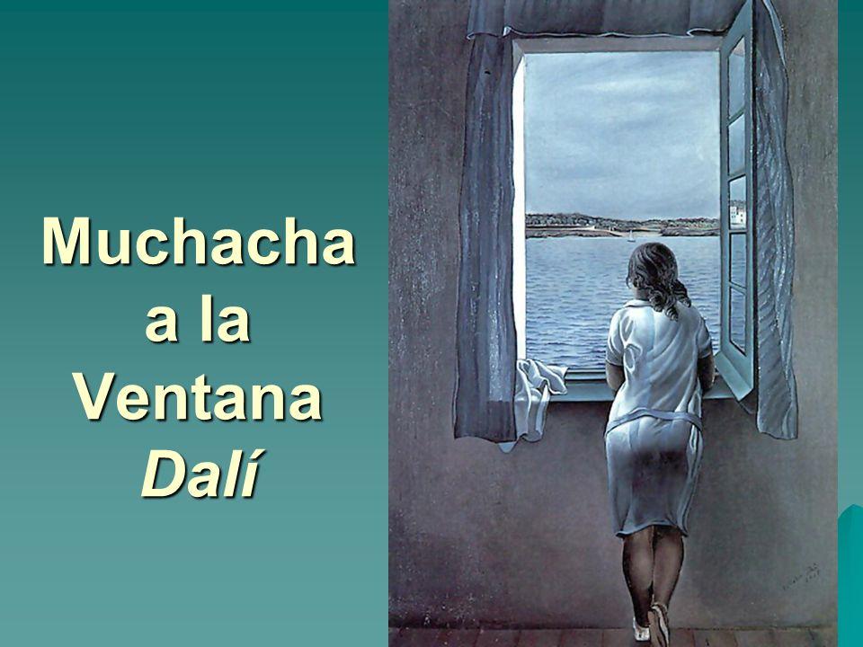 Muchacha a la Ventana Dalí
