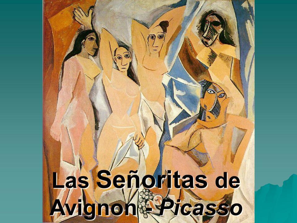 Las Señoritas de Avignon - Picasso