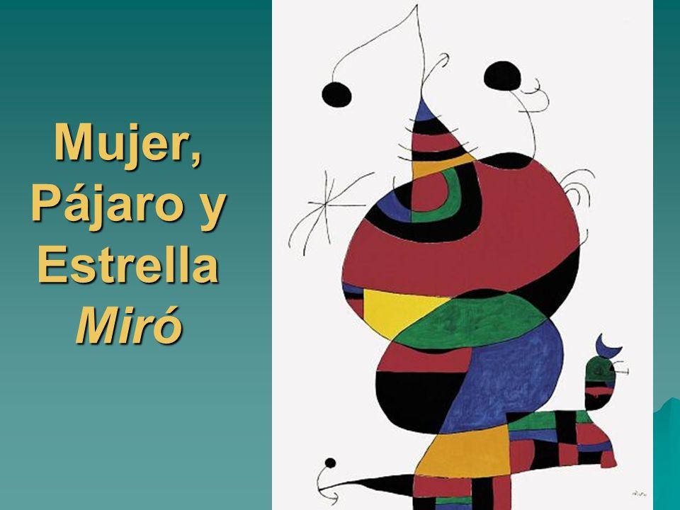 Mujer, Pájaro y Estrella Miró