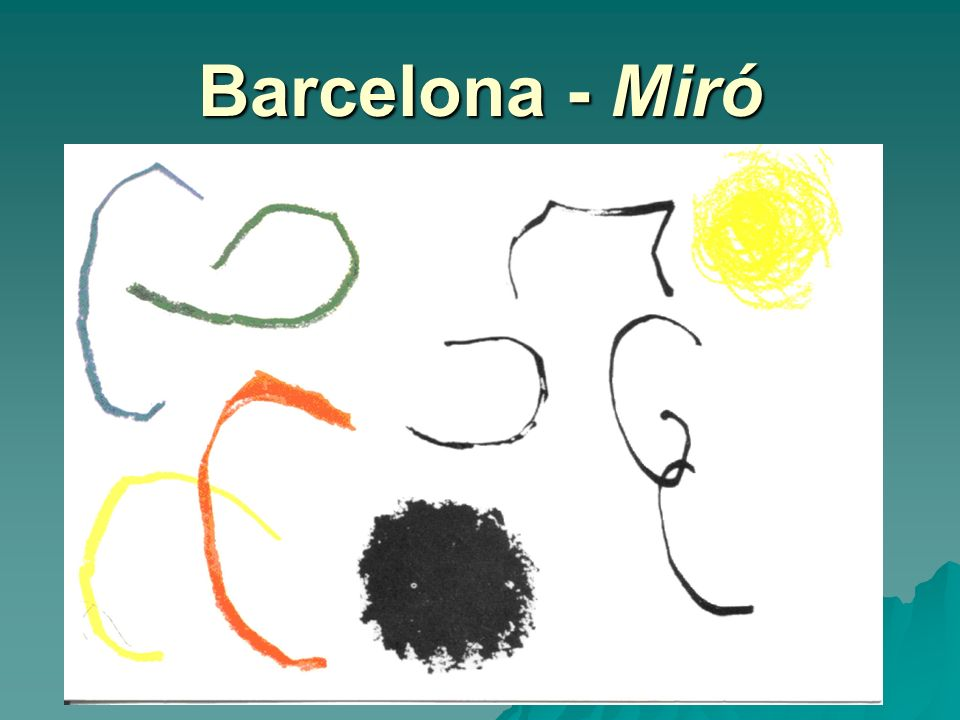 Barcelona - Miró