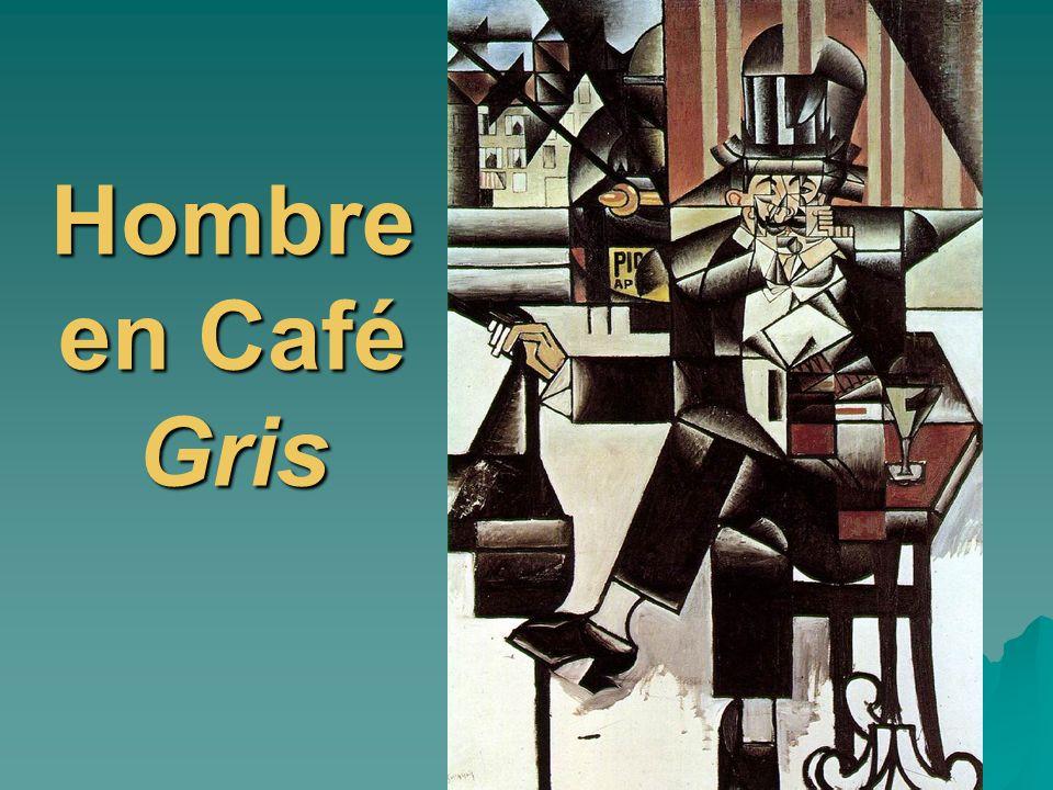 Hombre en Café Gris