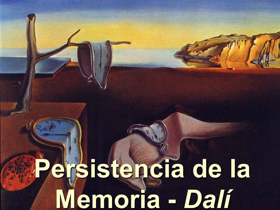 Persistencia de la Memoria - Dalí