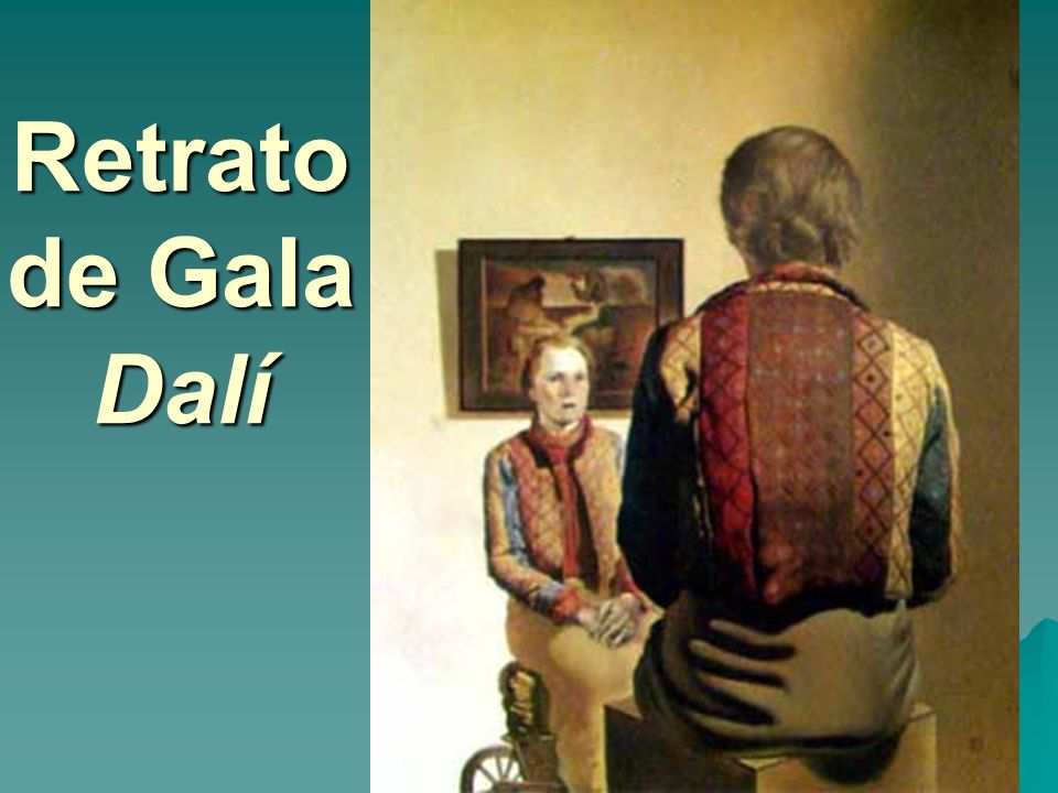 Retrato de Gala Dalí