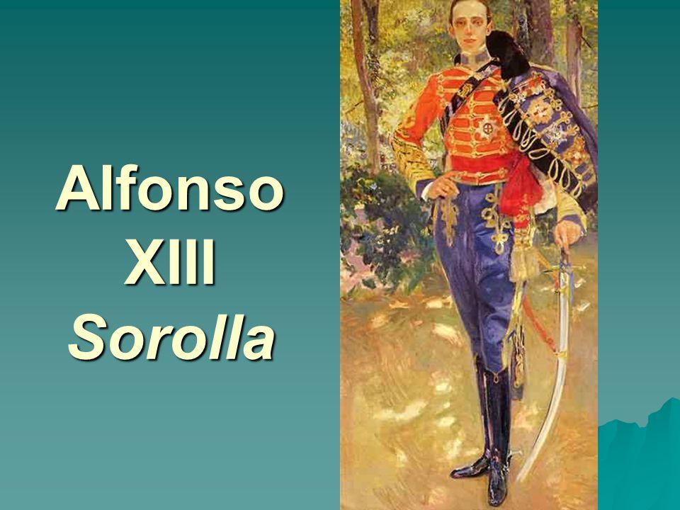 Alfonso XIII Sorolla