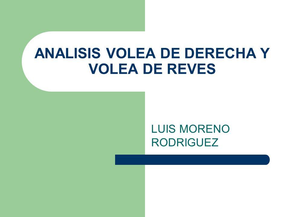 ANALISIS VOLEA DE DERECHA Y VOLEA DE REVES LUIS MORENO RODRIGUEZ