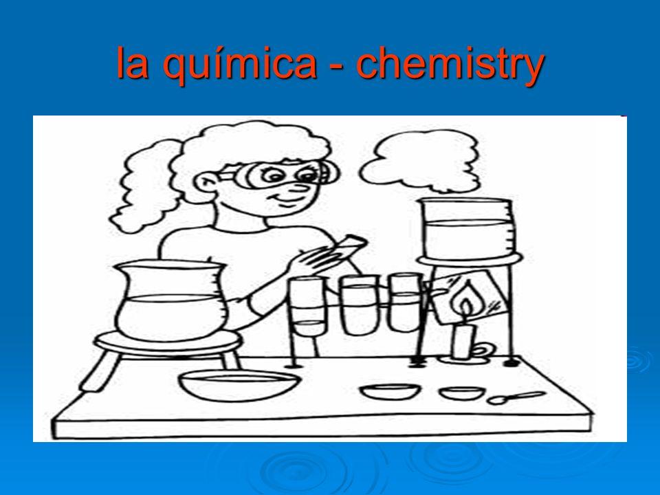 la química - chemistry