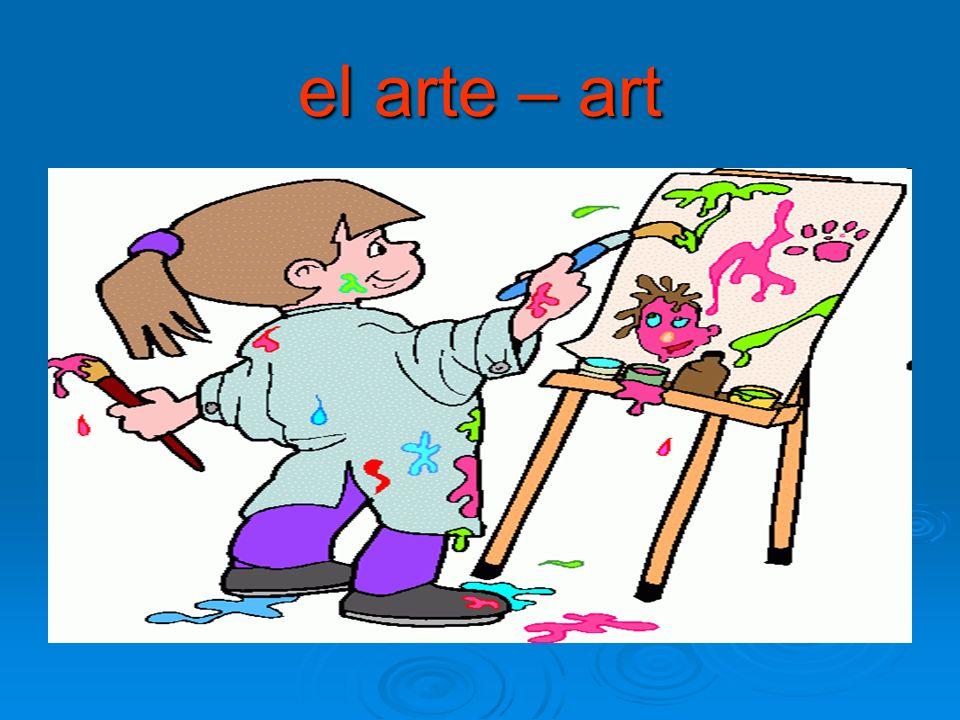 el arte – art