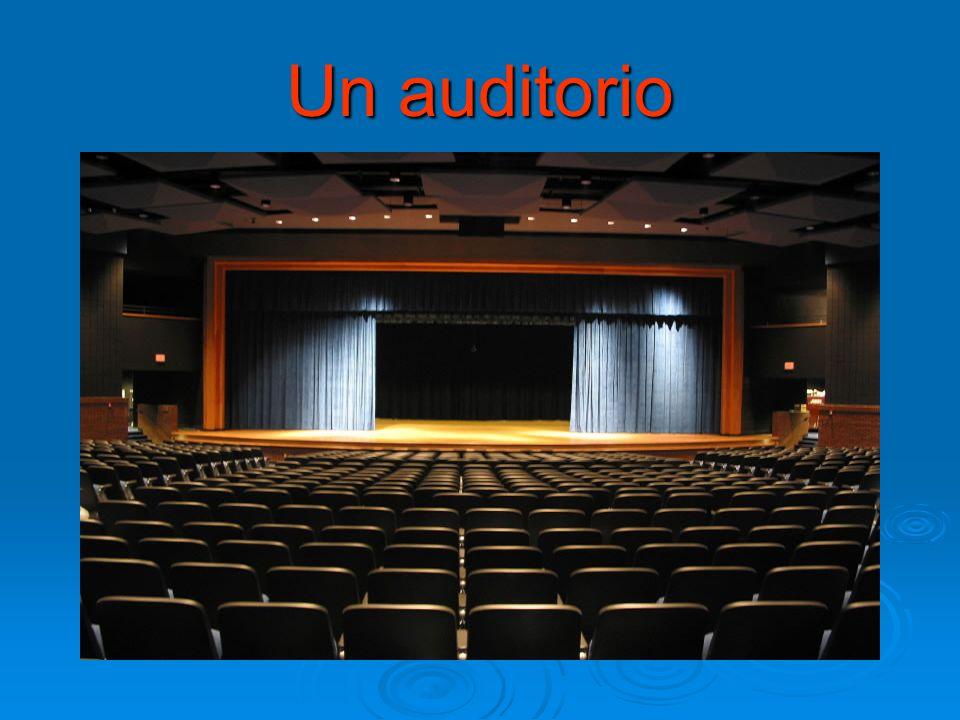 Un auditorio