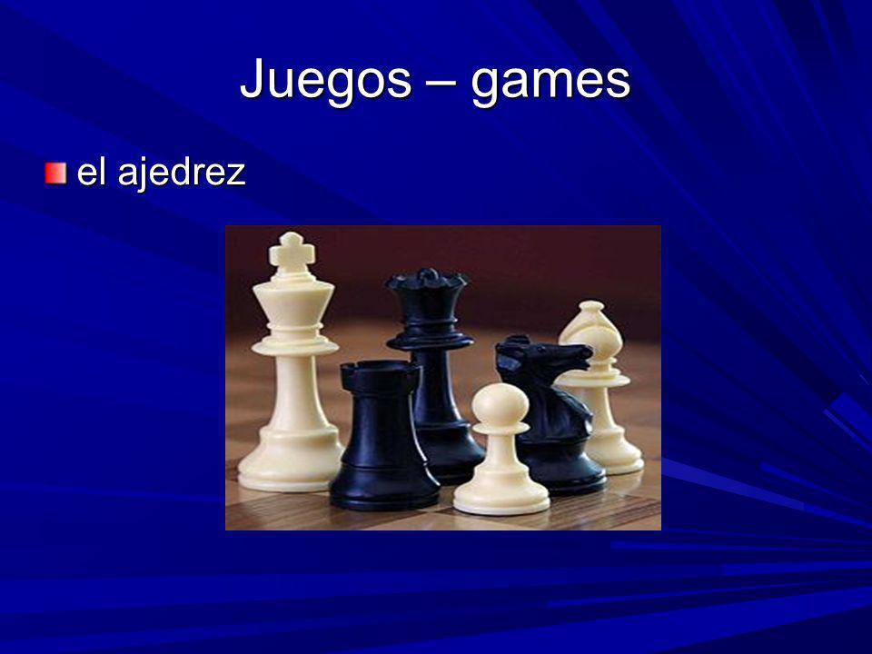 Juegos – games el ajedrez