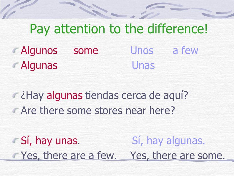 These are pronouns. They can stand alone. Alguno someone Alguna Algunos some Algunas