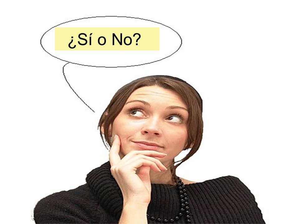 ¿Sí o No?