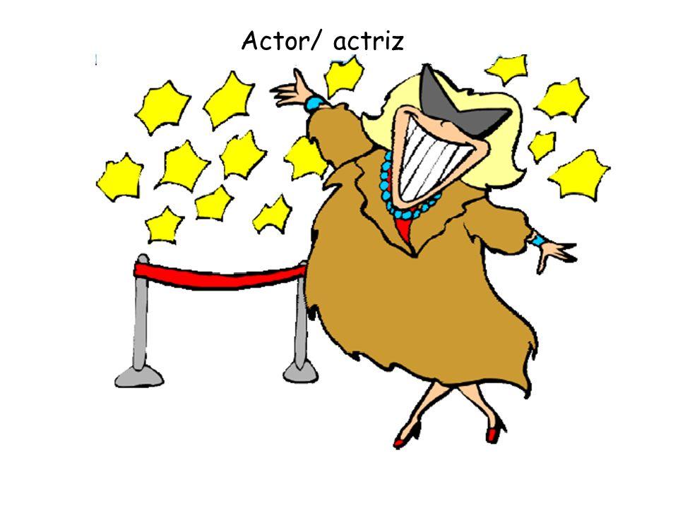 Actor/ actriz