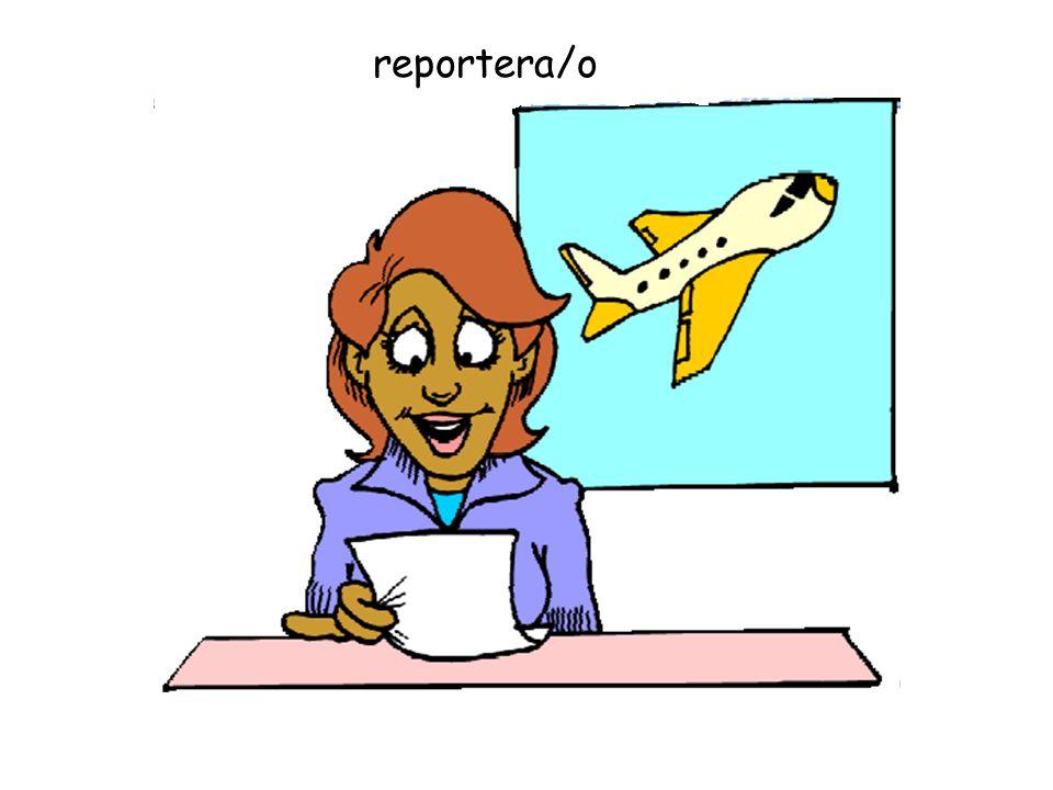 reportera/o