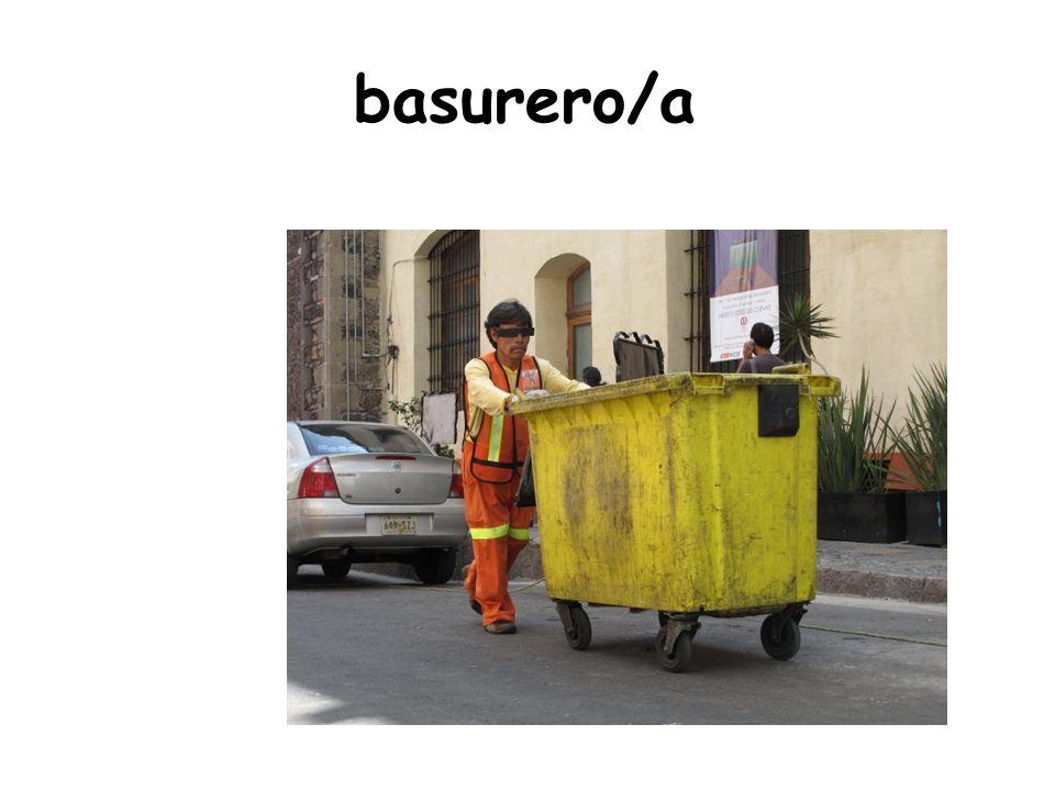 basurero/a