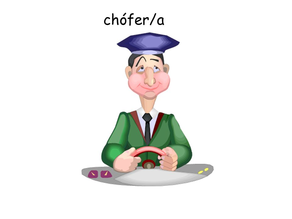Rule with the verb ser and professions- Soy… Es… » Profesor » Enfermera » Abogada » Piloto etc.